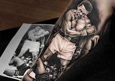Tatuajes de Muhammad Ali, diciendo adiós a una leyenda - http://www.tatuantes.com/tatuajes-de-muhammad-ali/ #tattoo