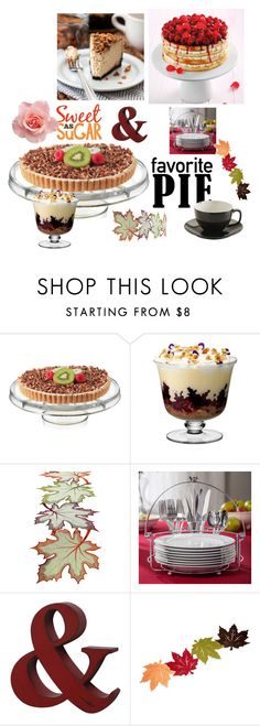 """""""SO SWEET"""" by suadapolyvore ❤ liked on Polyvore featuring moda, LSA International, Towle y favoritepie"""