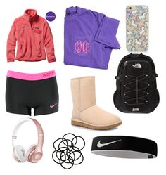 """""""Volleyball"""" by gracen26 on Polyvore featuring interior, interiors, interior design, home, home decor, interior decorating, NIKE, Patagonia, UGG Australia and The North Face"""
