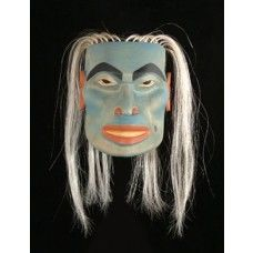 Otterman Mask by John Wilson Native Art, Native American Art, Woodlands School, John Wilson, Ceramic Mask, Tlingit, My Heritage, Pacific Northwest, North West