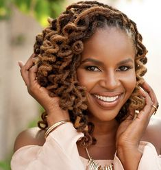 """Did anyone try to make you feel as though your locs weren't """"professional"""" enough? Proudly share your Job Title/Occupation! Ethnic Hairstyles, Dreadlock Hairstyles, Black Girls Hairstyles, Cool Hairstyles, Colored Dreads, Hair Locks, Afro Hair, Beautiful Dreadlocks, Dreads Styles"""