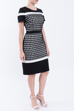 Shop sexy club dresses, jeans, shoes, bodysuits, skirts and more. Modest Summer Outfits, Simple Fall Outfits, Fall Fashion Outfits, Simple Dresses, Fashion Dresses, One Piece Outfit, Animal Print Dresses, Business Dresses, Dress Outfits