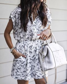 40 Stunning Outfits For Summer Holidays Abroad Summer Outfits, Cute Outfits, What Should I Wear, Dress Me Up, Anthropologie, Short Sleeve Dresses, Rompers, Style Inspiration, Shirt Dress