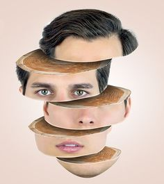 How to Create Face Slice Wooden Effect in Photoshop Tutorial #photoshoptutorials #tips #digitalart #drawing #retouching #editing #photomanipulation #facedrawingtutorials