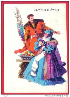 Small towns, traditional crafts, various topics… Find the postcards you were looking for! Poland Costume, Yule Goat, Polish Folk Art, Snow Maiden, Art Deco Posters, Art Costume, Easter Traditions, Postcard Design, Art Deco Period