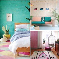 Dale vida a los espacios de tu hogar con colores vivos.. ¿que tal estas ideas?  #revistainkomoda #revista #ideas