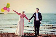 Hijab Photography#Couple#Cute