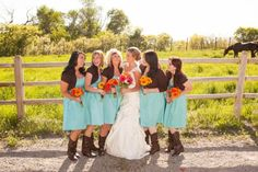 Bridesmaid with sweaters