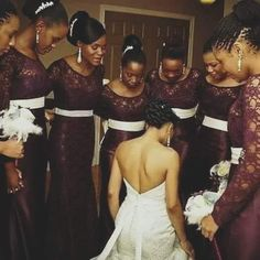 The original purpose of bridesmaids was to protect the bride and ward off evil spirits. Today, bridesmaids tend to welcome those spirits through encouraging the bride to engage in tempting activities the night before the wedding.  If you desire a solid marriage,make sure those who take part in that day truly want to see your marriage be a success in the eyes of God.