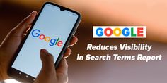Here in this post, let's have a look at how Google reduces visibility in search terms report. Google Ads, Global Economy, Seo Services, Search Engine, Announcement
