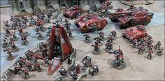 40k - Space Marines; The Crimson Heralds