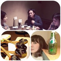 """ツアー2日目、名古屋ブルーノートありがとうございました。  午前1時、それぞれの夜…健康体の打ち上げチームから、私の大好きな生麩の生写真がご丁寧に送られてきました!(誰も…生麩に興味なさそうだったのに…チッ!) せめてもと、ブルーノートの冷蔵庫からくすねた""""瓶の高いおみず""""を、宝物のようにホテルで飲んでいます。  次は29日の福岡です。楽しみ!!"""