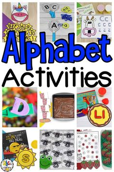 Are you looking for alphabet activities to help you teach your kids as they are learning the ABC's? These hand-on resources will help your pre-readers learn and practice letter identification, formation, and much more. Your kids will have fun learning through games, sensory activities, preschool worksheets, and more! Click on the picture to get all of these free alphabet activities for your preschoolers! #learningtheabcs #alphabetactivities #letteractivities #letterrecognition #prereading