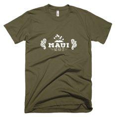 Short Sleeve Men's T-Shirt - Maui No Ka Oi