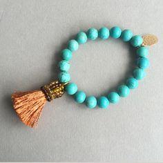 © UN JE NE SAIS QUOI www.unjenesaisquoi.ch Tassel Necklace, Beaded Bracelets, Bohemian Style Jewelry, Boho Hippie, Fashion Jewelry, Jewellery, Blue Prints, Bijoux, Hippie Boho