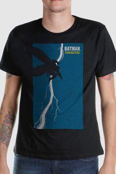 Eu recomendo Camiseta Masculina Batman Frank Miller via Myreks