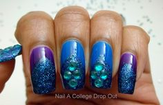 (via Nail A College Drop Out: Glitter, Triangles, &...