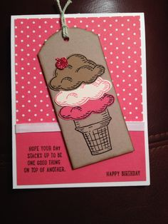 New Sprinkles of Life stamp set!  Stampin' Up!