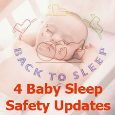 Several baby sleep safety updates from the  American Academy of Pediatrics. Disclaimer: article discusses heart/movement monitors.  While there is no harm using these devices, there is no evidence that these devices do anything to prevent SIDS.   #charlottepediatricclinic