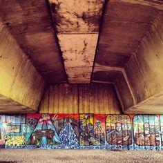 Under the bridge, Cardiff Bay