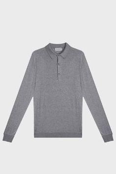 4edd2237 JOHN SMEDLEY Bradwell Cotton Polo Shirt. #johnsmedley #cloth. ModeSens Men