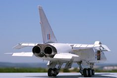 The British Aircraft Corporation TSR-2 was a cancelled Cold War strike and reconnaissance aircraft developed by the British Aircraft Corporation for the Royal Air Force in the late 1950s and early 1960s.