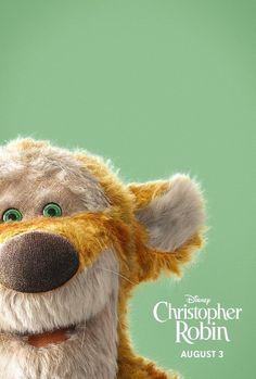 Winnie-the-Pooh and friends help old pal Christopher Robin rediscover the joy of life. Walt Disney, Disney Magic, Disney Art, Disney Movies, Disney Pixar, Ewan Mcgregor, Live Action, Disneysea Tokyo, Disney Christopher Robin