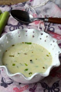 Sütlü Pırasa Çorbası tarifi