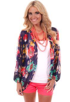 Lime Lush Boutique - Navy Floral Print Cardigan, $38.99 (http://www.limelush.com/navy-floral-print-cardigan/)