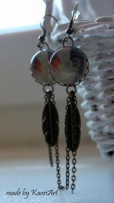 Kolczyki Piórka  Feathers Earrings