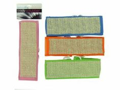 Flax Body Scrubber W/Rope - Case Pack 48 SKU-PAS789953 by DDI. $110.01. 100% SATISFACTION GUARANTEED. Please refer to the title for the exact description of the item. Allof theproductsshowcased throughoutare100%OriginalBrand Names.. Flax Body Scrubber W/Rope A great wholesale, discount product!