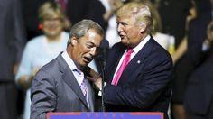 Trump propone a Farage como embajador británico en Washington y Londres responde que no hay vacante