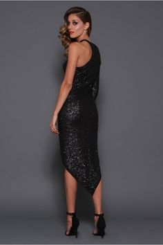 Stunning sequins special event lbd.