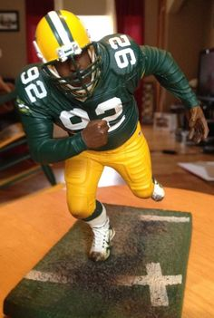 Reggie White/ McFarlane Toys/NFL Action Figure/ Green Bay Packers/Loose http://clektr.com/bMwX