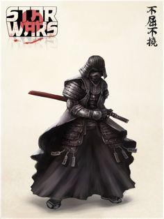 Samurai Sith. This is beautiful and brilliant.
