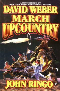PATRICK TURNER - March Upcountry by David Weber & John Ringo - 2001 Baen Books