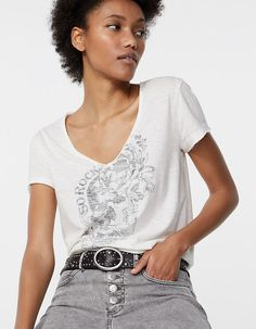 Coton Biologique, T Shirt, V Neck, Women, Products, Style, Fashion, Cotton T Shirts, Fashion Advice