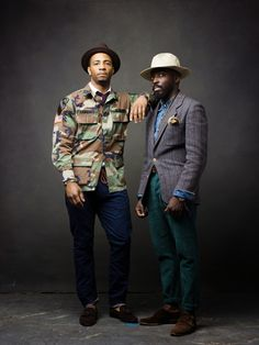 If you haven't checked out Washington, D.C.'s hidden gemGentlemen's Brim, you're missing out. This men's fashion blog was started in 2012 byTony Gyepi-Garbrah and Sadiki Harriott and the formula is simple: Style plus motorcycles equals happiness.