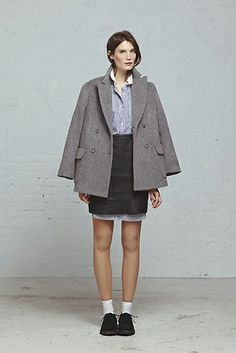 Steven Alan's Fall '13 Line Is Not So Prim And Proper #refinery29