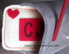 Pottery Barn Kids Inspired Play Mailbox Valentine's Day - Under the Table and Dreaming