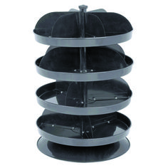 12 in. Four Tray Revolving Storage