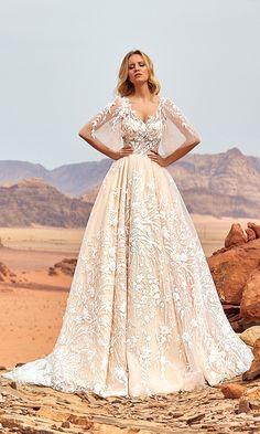 Oksana Mukha Wedding Dresses 2018 Jadice-1 / http://www.deerpearlflowers.com/oksana-mukha-wedding-dresses-2018/3/