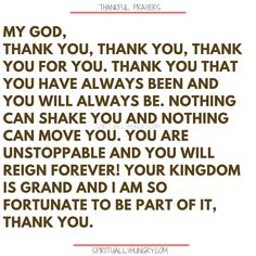 Here's a great batch of 30 thankful prayers for you. We are given so much, often times we focus on what we don't have or what we want, instead of being thankful for all that we have. These 30 short prayers will help you foster a thankful heart. Thankful Prayers, Prayers Of Gratitude, Short Prayers, Thankful Heart, Prayers For Healing, Gratitude Quotes, Positive Quotes, Bible Quotes, Bible Verses