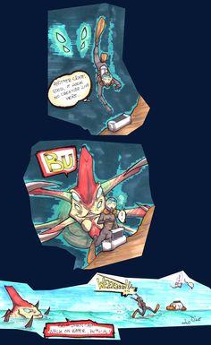 Subnautica - BU by LeoDragonsWorks on DeviantArt Funny Gaming Memes, Funny Cartoon Memes, Cartoon Games, Funny Games, Cute Comics, Funny Comics, Subnautica Creatures, Subnautica Concept Art, Shadow Of The Colossus