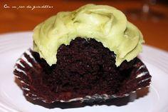 Cupcakes de té verde, ¡había que probarlos antes de la foto!