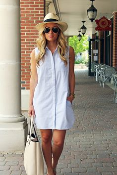 *SOLD* Shirtdress by RD style from Stylish Surprise; Worn once but in perfect condition 15 shipped New Outfits, Summer Outfits, Fashion Outfits, Womens Fashion, Simple Dresses, Casual Dresses, Casual Outfits, V Dress, Shirt Dress