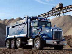 ✿Kenworth T800✿ Heavy Duty Trucks, Heavy Truck, Dump Trucks, Big Trucks, Hydraulic Ram, Semi Trailer, Kenworth Trucks, Fuel Economy, Tandem