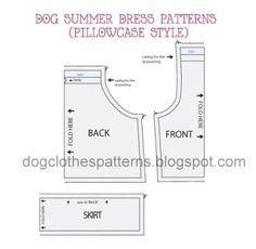 dog dress patterns preview