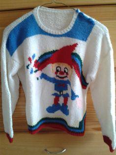 Suéter duende. Tejido en dos agujas