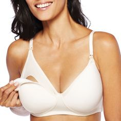 bb8085f1db Buy Spencer Microfiber Wirefree Padded Nursing Bra today at jcpenney.com.  You deserve great